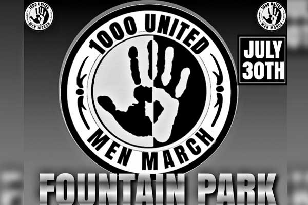1000 United Men March in Warner Robins