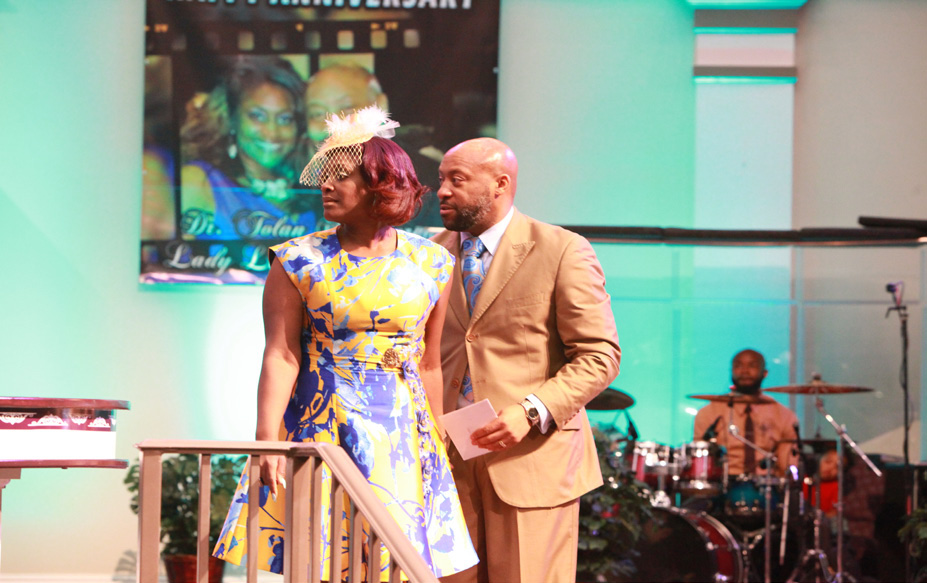 Pastor Tolan and First Lady Laneen Morgan