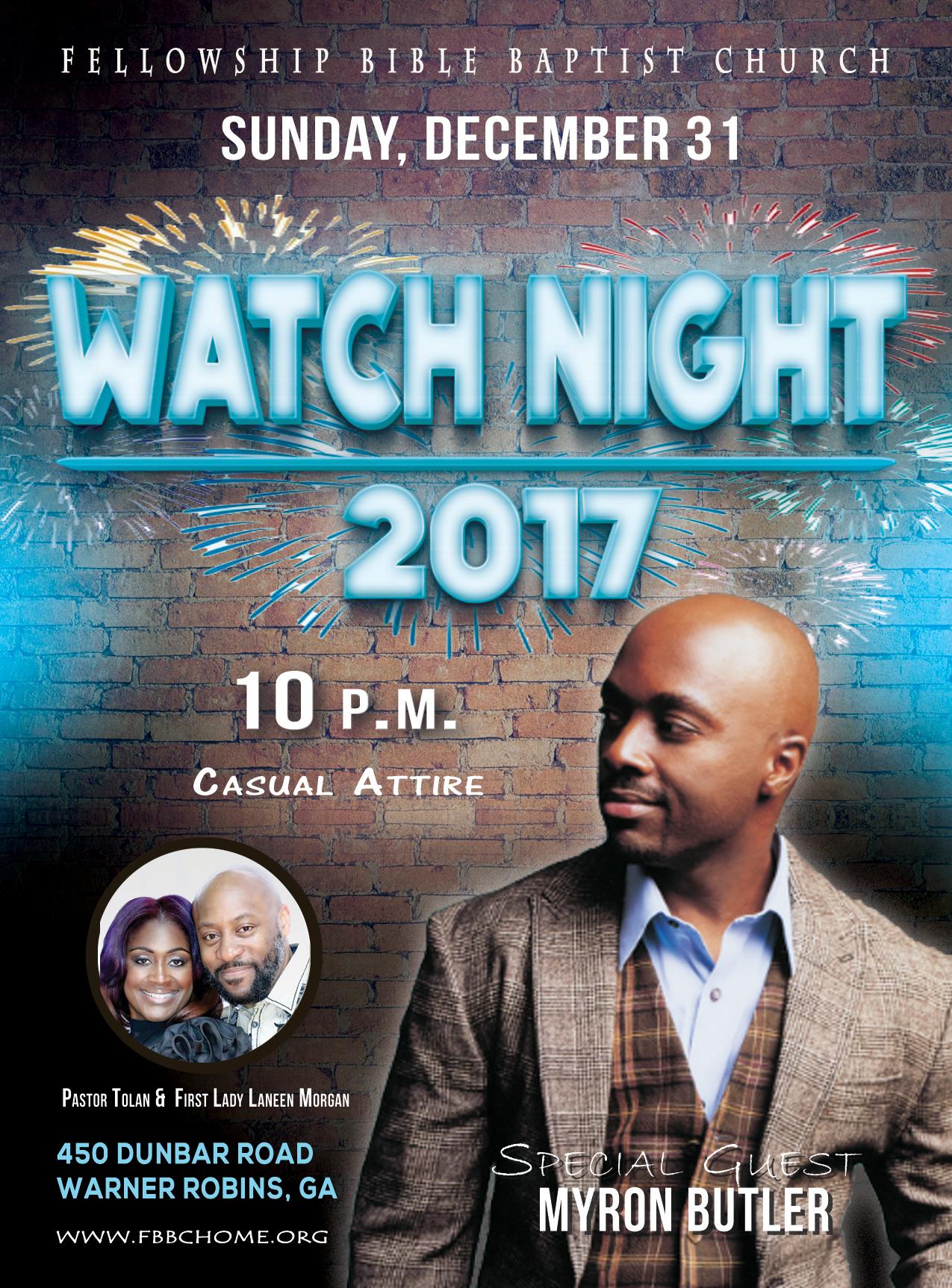 RGB Watch Night 2017