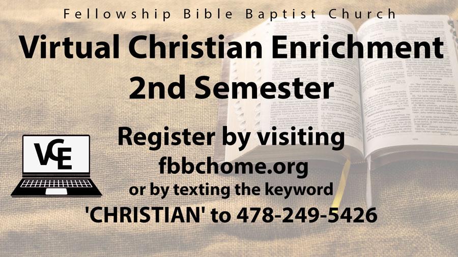 Virtual Christian Enrichment
