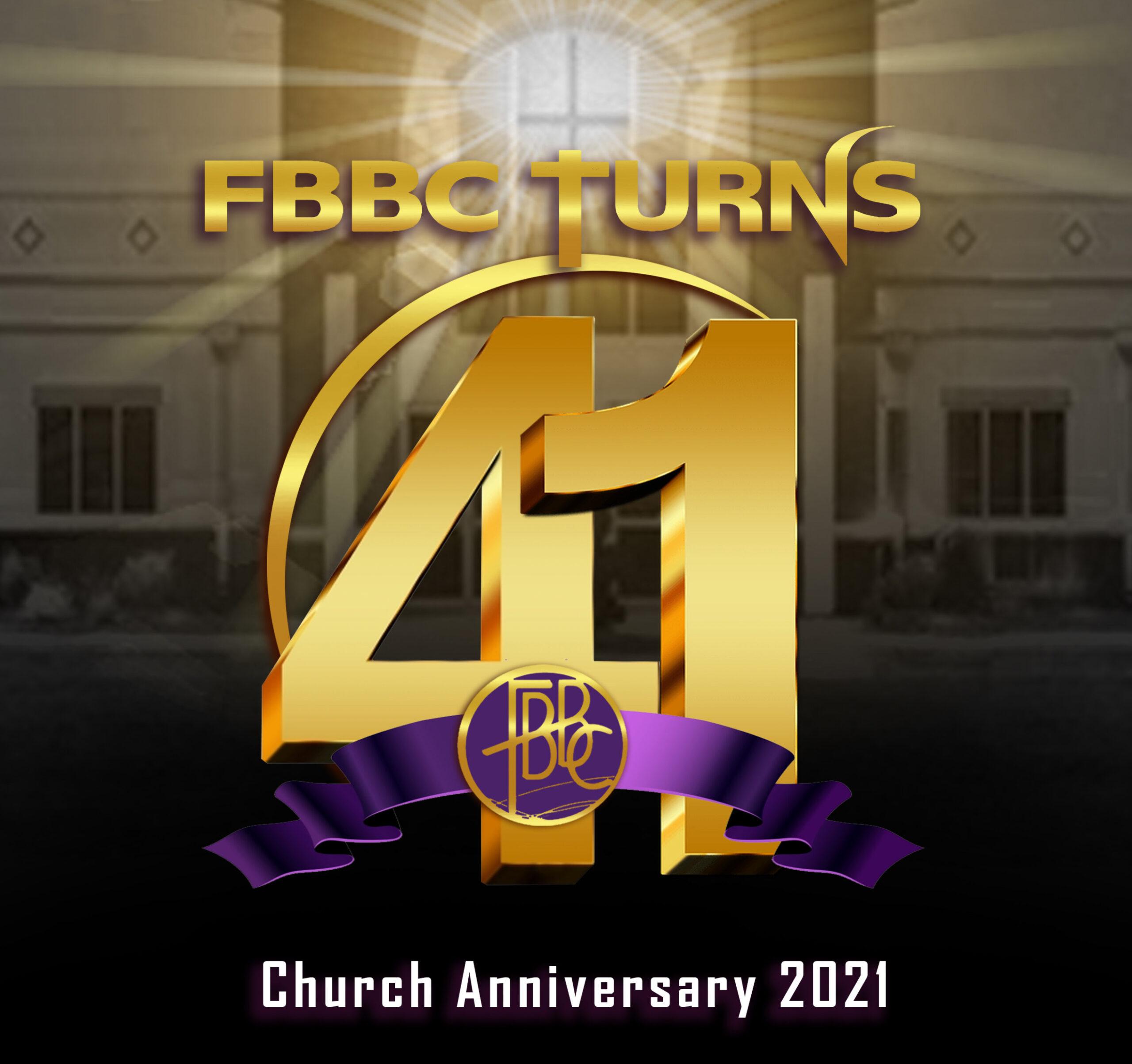 FBBC 41st Church Anniversary