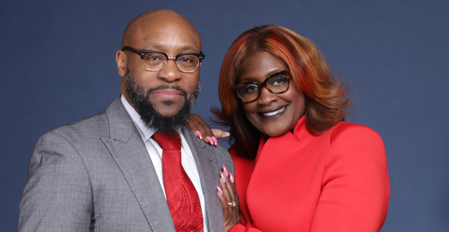 Pastor Tolan Morgan and First Lady Laneen