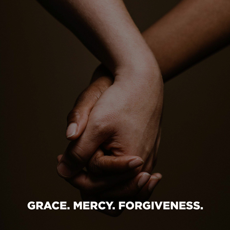 Grace Mercy Forgiveness