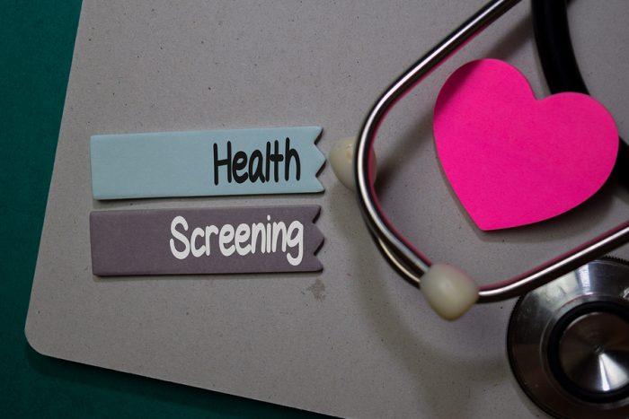 health screenings and exams