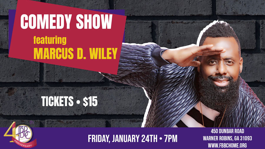 Marcus Wiley Comedy Show
