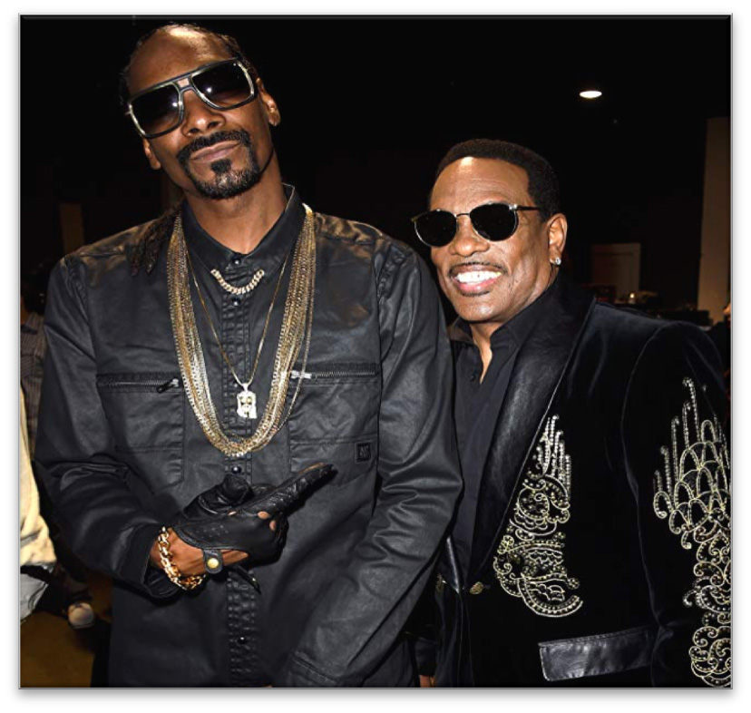 *Pictured: Snoop Dogg (left) and Charlie Wilson (right)*