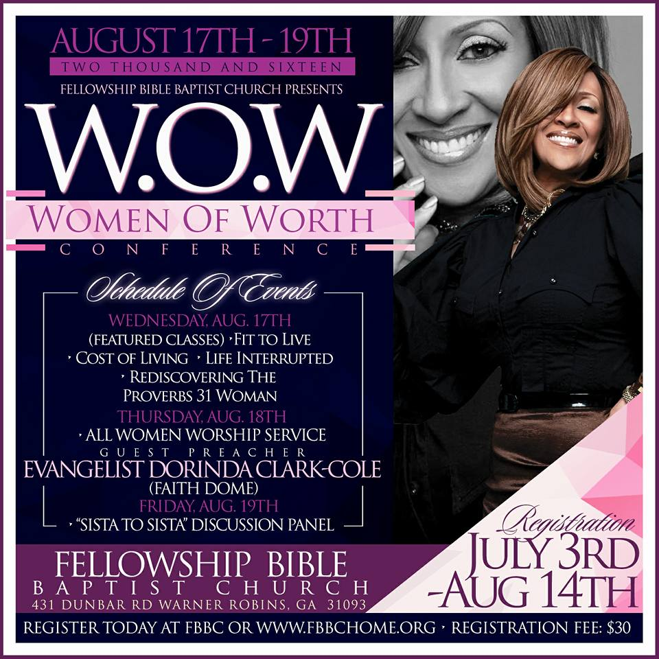Women of Worth Conference
